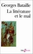 La littérature et le mal