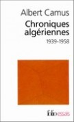 Chroniques algriennes 1939-1958